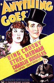<i>Anything Goes</i> (1936 film) 1936 American musical film
