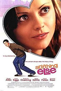 <i>Anything Else</i> 2003 film by Woody Allen