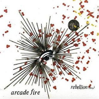 Rebellion (Lies) - Image: Arcade fire rebellion lies CD single
