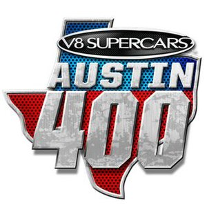 Austin 400 - Image: Austin 400 logo