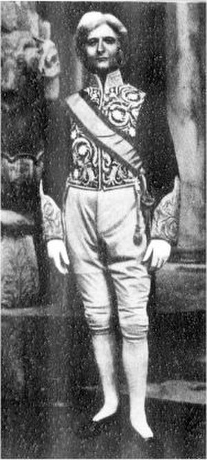 The Balkan Princess - William Lugg as the Prime Minister