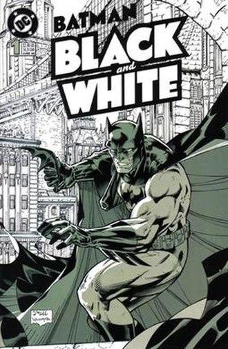 Batman Black and White - Image: Batman Black and White 1
