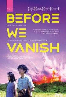 <i>Before We Vanish</i> 2017 film