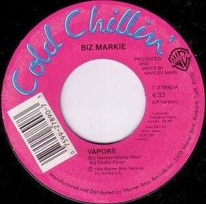 Vapors (song) - Image: Biz Markie Vapors single cover