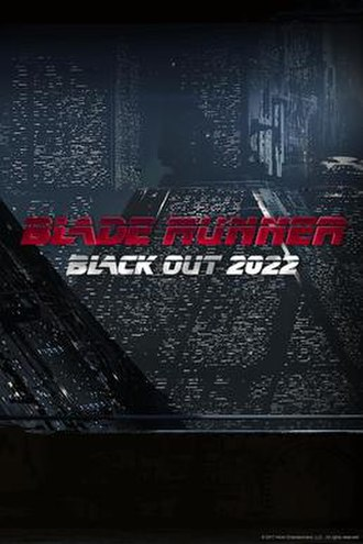 Blade Runner Black Out 2022 - Image: Blade Runner Black Out 2022 cover