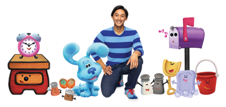List Of Blue S Clues Characters Wikipedia