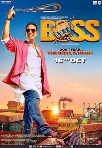 Boss (2013 Hindi film) - Theatrical release poster