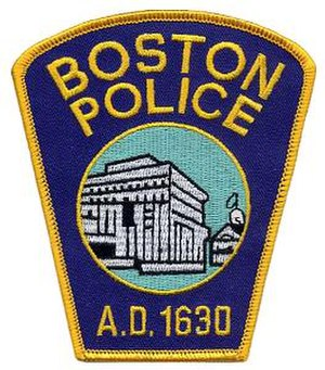 Boston Police Department - Image: Boston Police patch