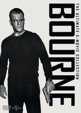 Bourne (film series) - DVD box set of The Bourne Identity (2002), The Bourne Supremacy (2004), The Bourne Ultimatum (2007), The Bourne Legacy (2012) and Jason Bourne (2016)