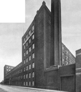 Brunswick Mill, Ancoats grade II listed mill in Manchester, United kingdom