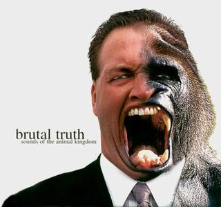 <i>Sounds of the Animal Kingdom</i> 1997 studio album by Brutal Truth