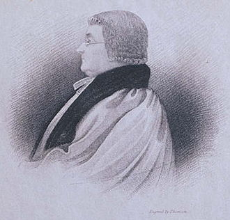 University of Wales, Lampeter - Engraving of Bishop Burgess