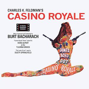 Casino Royale (1967 film) - Image: Burt Bacharach Casino Royale (1967 soundtrack)