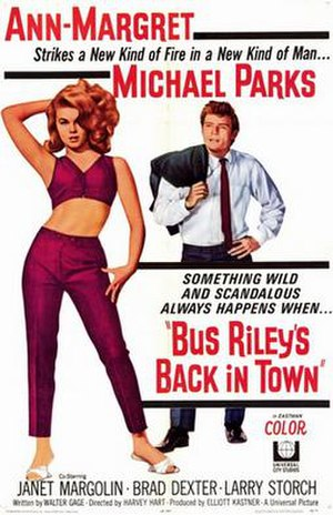 Bus Riley's Back in Town - Image: Bus rileys back in town movie poster 1965