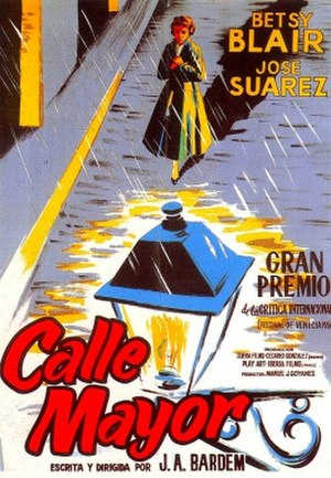 Calle Mayor - Spanish theatrical release poster