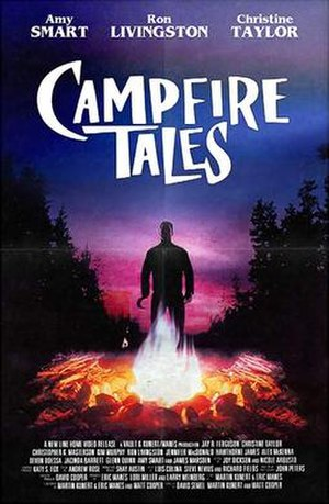 Campfire Tales (1997 film) - VHS cover art