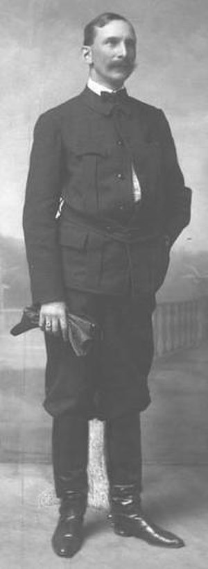 Carl A. Schenck - Carl Schenck in German riding costume, 1905