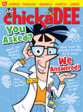 Chickadee (magazine) - Image: Chick Jan Feb 12 cover