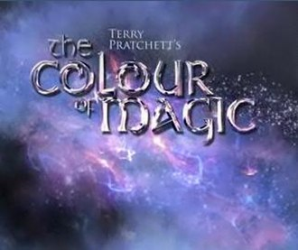 Terry Pratchett's The Colour of Magic - Image: Colour Of Magic Logo