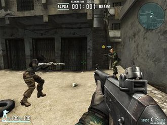Combat Arms (video game) - The game boasts customizability that includes female player models.