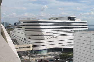 Miss Universe 2016 - Conrad Manila, the venue of the kick-off event