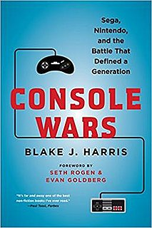 <i>Console Wars</i> (book) 2014 book by Blake J. Harris