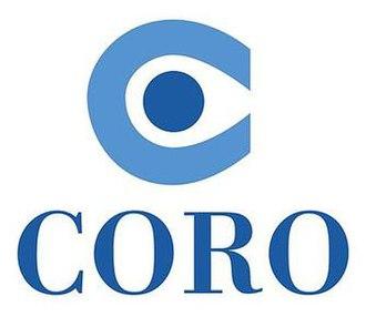Coro (non-profit organization) - Image: Coro Graphic