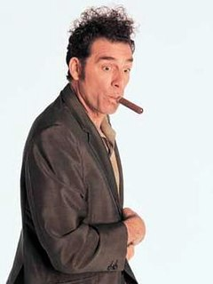 Cosmo Kramer main character on the TV show, Seinfeld