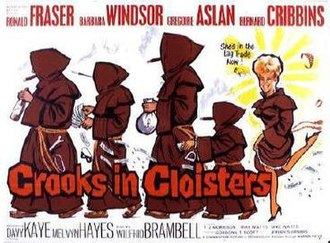 Crooks in Cloisters - 'Crooks in Cloisters' poster