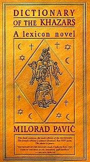 <i>Dictionary of the Khazars</i> book by Milorad Pavić