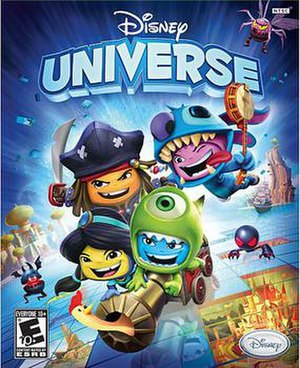 Disney Universe - North American cover