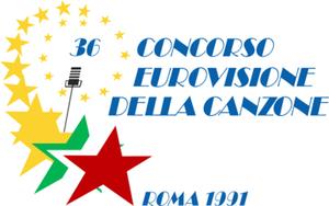 Eurovision Song Contest 1991 - Image: ESC 1991 logo