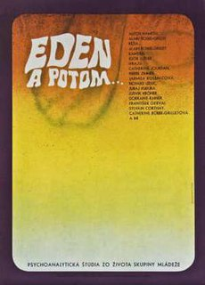 <i>Eden and After</i> 1970 film by Alain Robbe-Grillet
