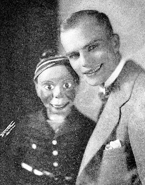 Edgar Bergen - Bergen and Charlie when they were vaudeville performers in 1926