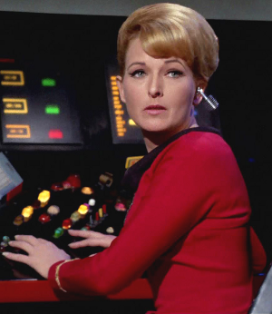 Elizabeth Rogers - Elizabeth Rogers as Lt. Palmer in Star Trek