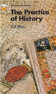 <i>The Practice of History</i> book by Geoffrey Elton
