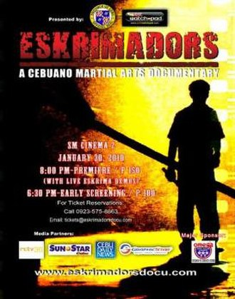Eskrimadors - Theatrical poster