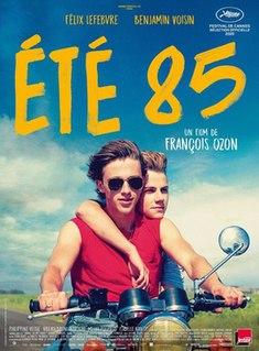 <i>Summer of 85</i> 2020 French-Belgian drama film