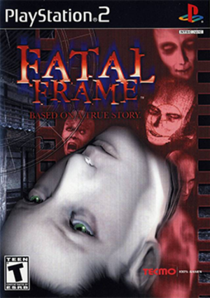 Fatal Frame (video game) - North American PlayStation 2 cover art