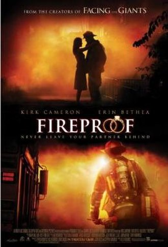 Fireproof (film) - Theatrical release poster