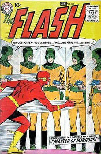 The Flash (comic book) - Image: Flash v 1 105