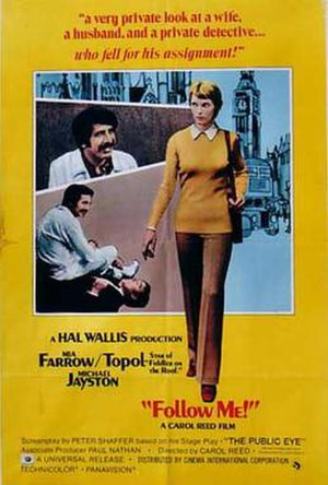 Follow Me! (1972 film) - Original publicity poster for Follow Me!