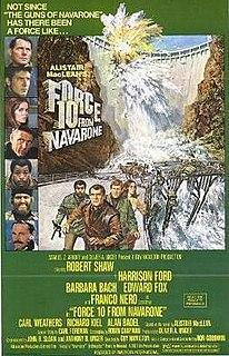 <i>Force 10 from Navarone</i> (film) 1978 film by Guy Hamilton