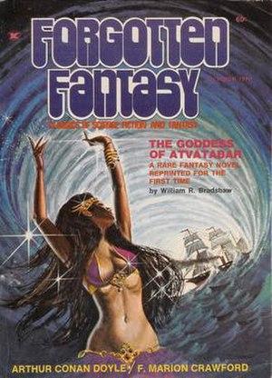 Forgotten Fantasy - Cover of the October, 1970 issue of Forgotten Fantasy