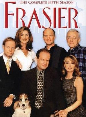 Frasier (season 5) - DVD cover