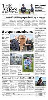 newspaper in Pleasantville, New Jersey