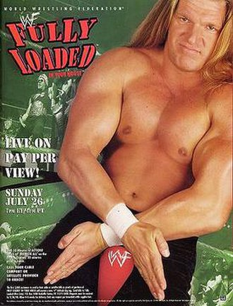 Fully Loaded: In Your House - Promotional poster featuring Triple H