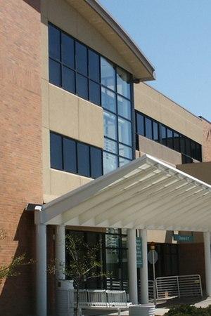 Grinnell Regional Medical Center - Exterior shot of Grinnell Regional Medical Center