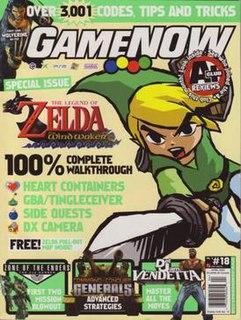 <i>GameNOW</i> United States-based video game magazine