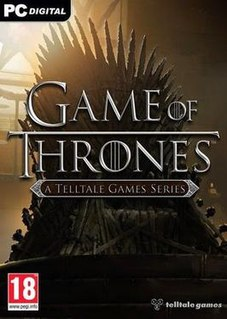 <i>Game of Thrones</i> (2014 video game) 2014 video game by Telltale